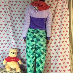 Disney Intimates & Sleepwear - Disney Little Mermaid 🧜♀️ Furry Soft Onesie PJs